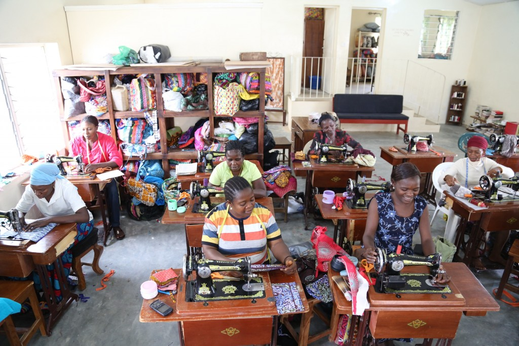Bako Bags Sewing Room